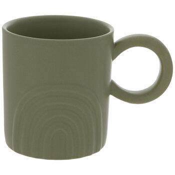 Raised Rainbow Mug