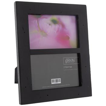 "Black Wood Collage Frame - 6"" x 4"""