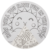 Fun In The Sun Paper Wheel Craft Kit