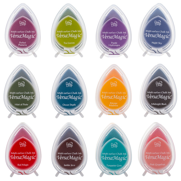 fruit cocktail versamagic ink pads tsukineko rubber stamp pads multipurpose chalk water based pigment ink