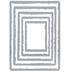 Stacked Deckle Thinlits Dies