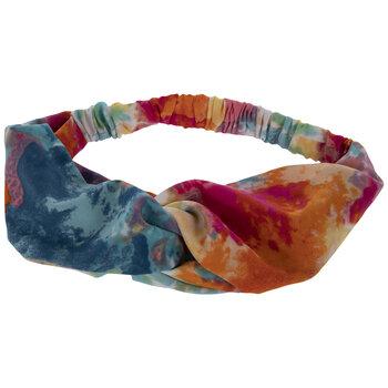 Purple Tie Dye Headband Tie Dye Bow Headband Gift for Teens. Purple Bow Headband Tie Dye Bow Purple Tie Dye Headband Tie Dye Headband