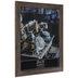 Gray Ridged Barnwood Wall Frame - 18