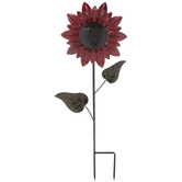 Sunflower Metal Garden Stake