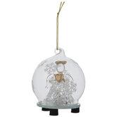Angel Globe Light Up Ornament