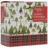 Country Christmas Shea Butter Soap Bar