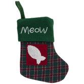Meow Fish Mini Stocking