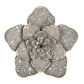 Speckled Flower Metal Wall Decor