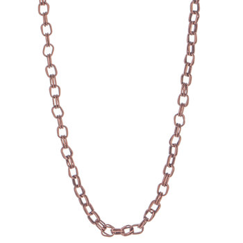 """Double Link Chain Necklace - 30"""""""