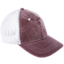 Burgundy Trucker Baseball Cap