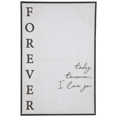 I Love You Forever Canvas Wall Decor