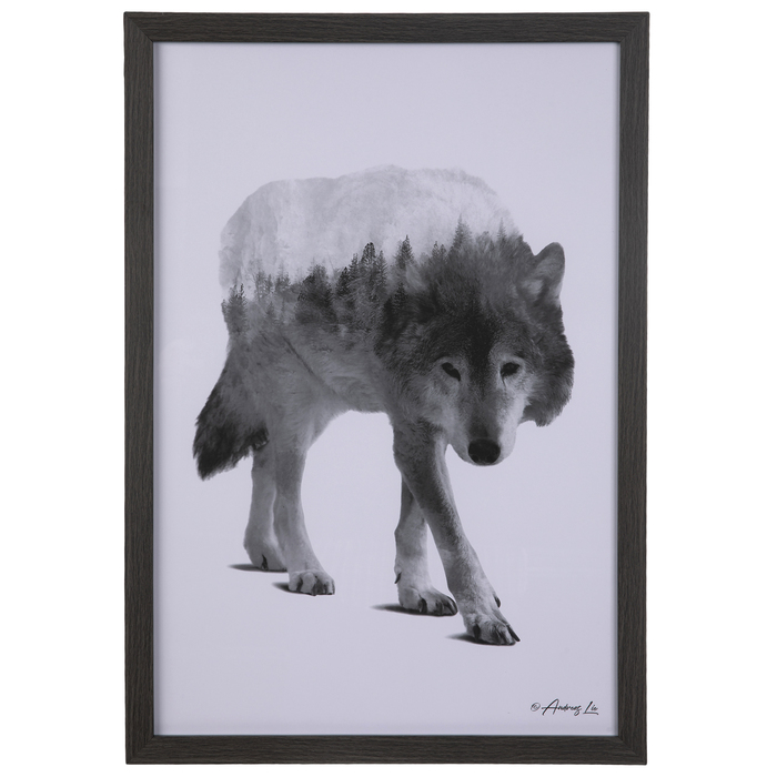 Hunting Wolves Canvas Art Print for Wall Decor Painting
