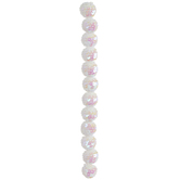 Crystal AB Sequin Bead Strand