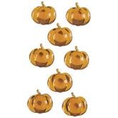 Pumpkin Rhinestone Stickers