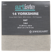 Oat 14-Count Yorkshire Cross Stitch Fabric