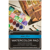 "Master's Touch Watercolor Paper Pad - 4"" x 6"""