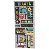 Travel Glitter Stickers