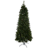 Slim Yuletide Pine Christmas Tree - 9'