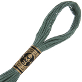 501 Dark Blue Green DMC Cotton Embroidery Floss
