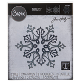 Sizzix Thinlits Stunning Snowflakes Dies