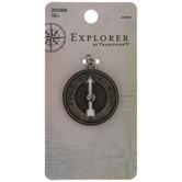 Compass Metal Pendant