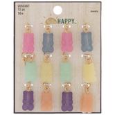 Pastel Gummy Bear Charms