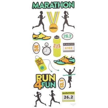 Marathon Stickers