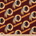 NFL Washington Redskins Fleece Fabric