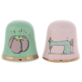 Pin Cushion & Sewing Machine Thimbles
