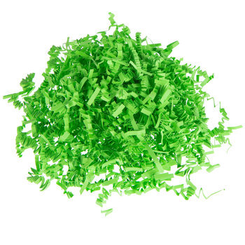 Lime Crinkle Cut Decorative Paper Shred