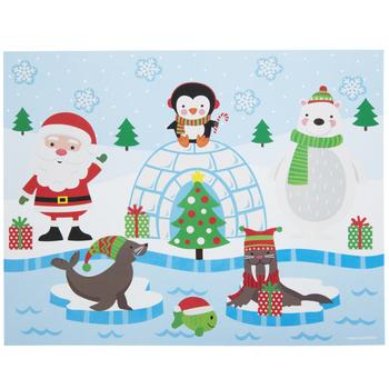 Polar Pals Sticker Scene Craft Kit