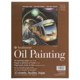 """Strathmore 400 Series Oil Painting Paper Pad - 9"""" x 12"""""""