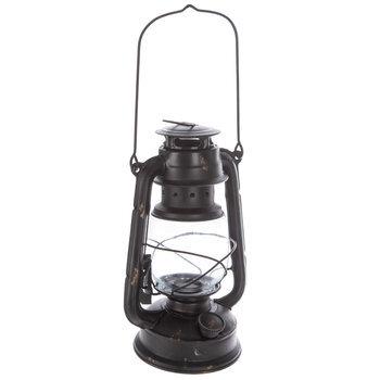 Black Rustic Metal Lantern