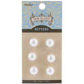Pearl Shank Buttons - 10mm