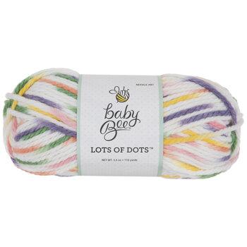 Cutesy Ootsy Baby Bee Lots Of Dots Yarn