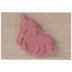 Unicorn Silhouette Rubber Stamp