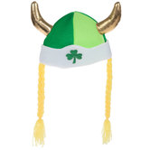 St Patrick's Day Viking Hat