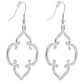 Quatrefoil Swirl Earrings