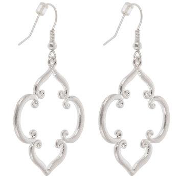 Quatrefoil Swirl Earrings