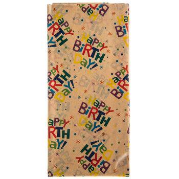 Kraft Happy Birthday Tissue Paper