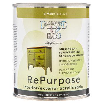Olive Repurpose Acrylic Satin Paint