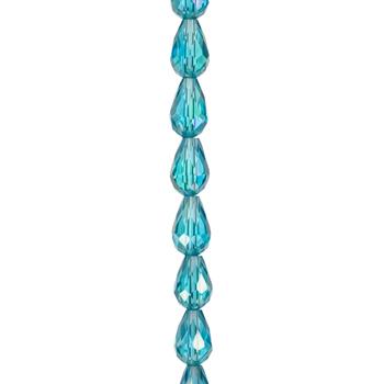 Pear Glass Bead Strand