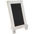 White Framed Easel Chalkboard