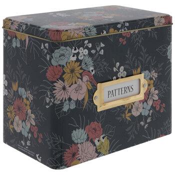 Floral Patterns Tin