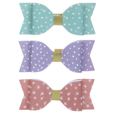 Pastel Bow 3D Stickers