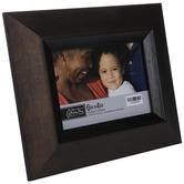 "Dark Brown Angled Profile Frame - 6"" x 4"""