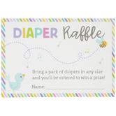 Diaper Raffle Cards