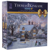 Christmas At Gingerbread Cottage Puzzle