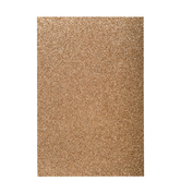 "Bronze Glitter Foam Sheet - 12"" x 18"""