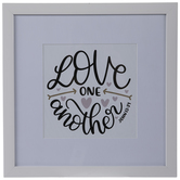 John 13:34 Framed Wall Decor